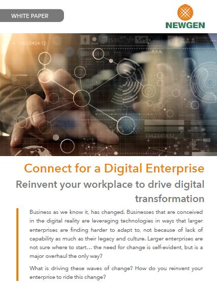 Whitepaper: Connected Enterprises. Transformed Experiences.