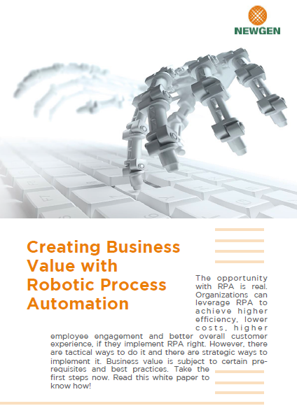 Whitepaper: Creating Business Value with Robotic Process Automation (RPA)