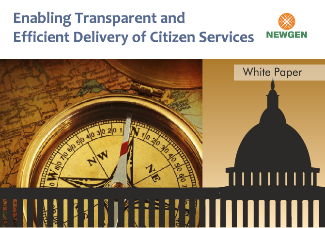 Whitepaper: Enabling Transparent and Efficient Delivery of Citizen Services