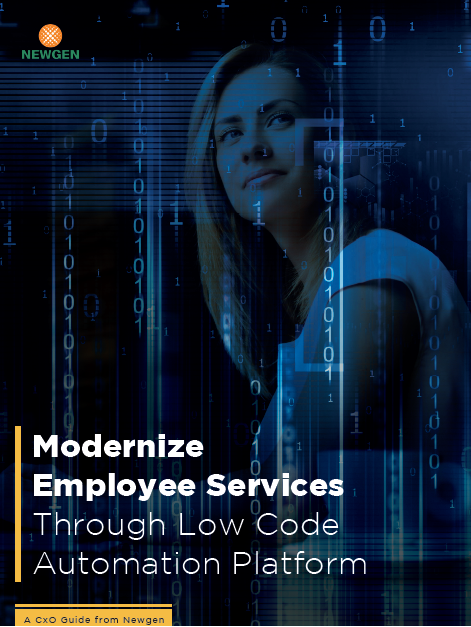 Whitepaper: Modernize Employee Services Through Low Code Automation Platform