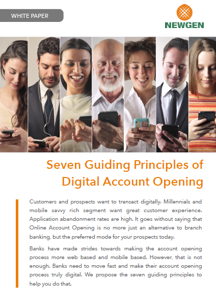 Whitepaper: Seven Guiding Principles of Digital Account Opening