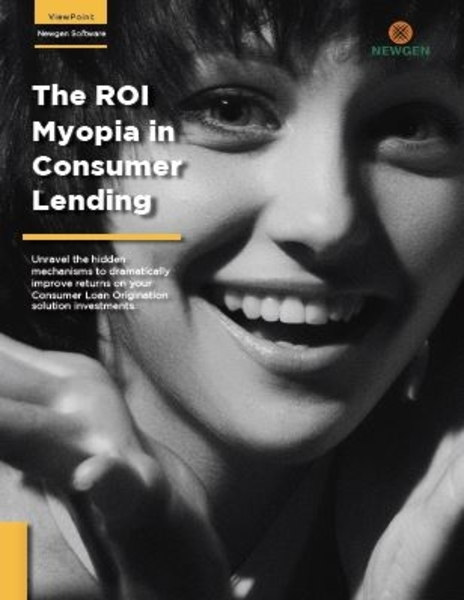 Whitepaper: The ROI Myopia in Consumer Lending