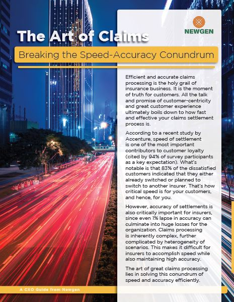 Whitepaper: The Art of Claims—Breaking the Speed-Accuracy Conundrum