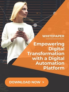 Empowering digital transformation with digital automation platform - Whitepaper: Modernize Customer Service through Low Code Automation Platform
