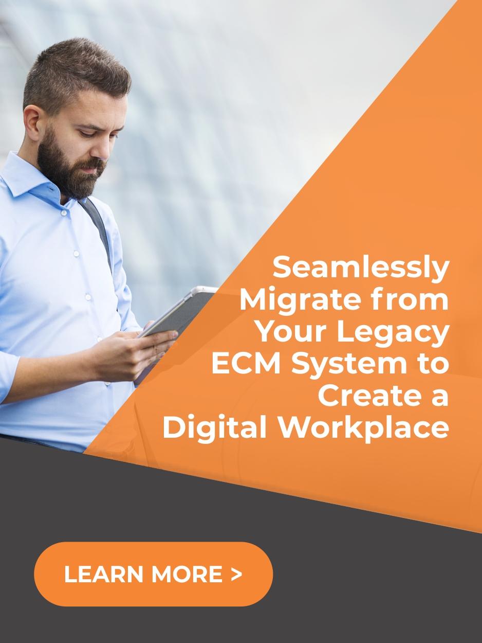 ECM Modernization - Selecting your content modernization platform - Records Management