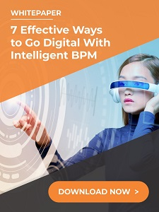 7 effective ways to go digital with bpm - Whitepaper: The Three Hurdles to Digital Transformation