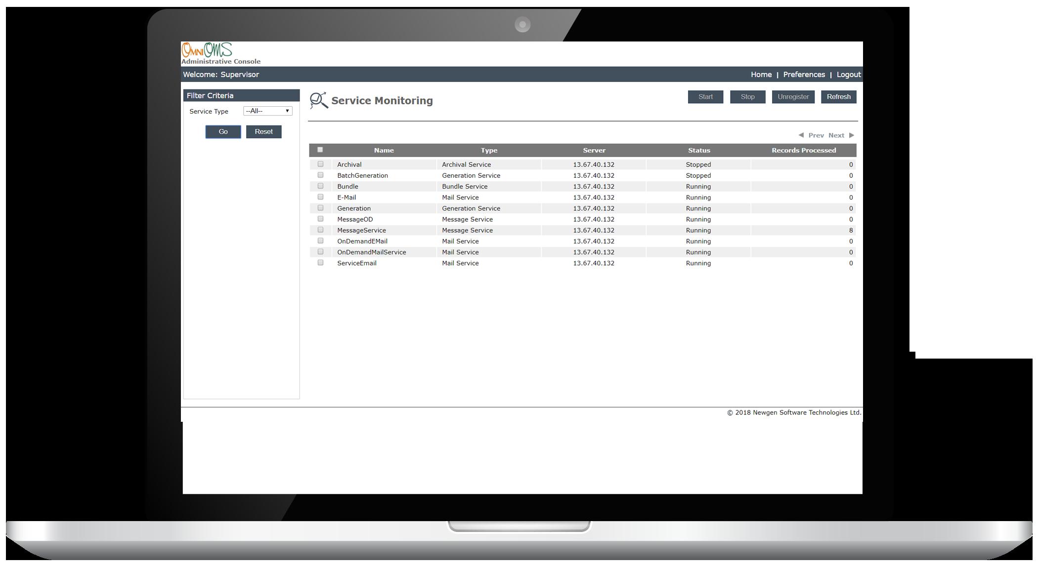 Communication Monitoring - Customer Communication Management (CCM)