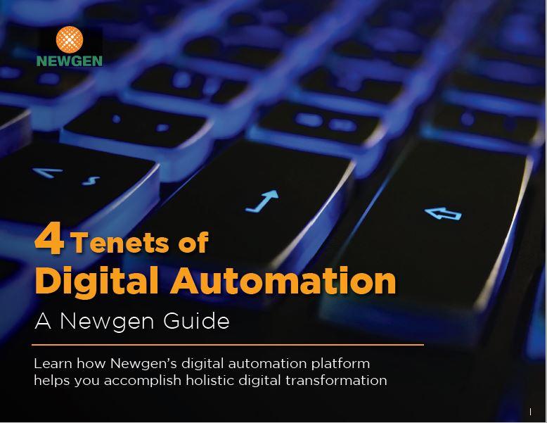 eBook: 4 Tenets of Digital Automation Platform