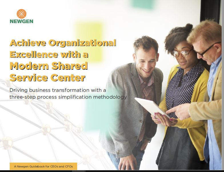 eBook: Achieve Organizational Excellence with a Modern Shared Service Center