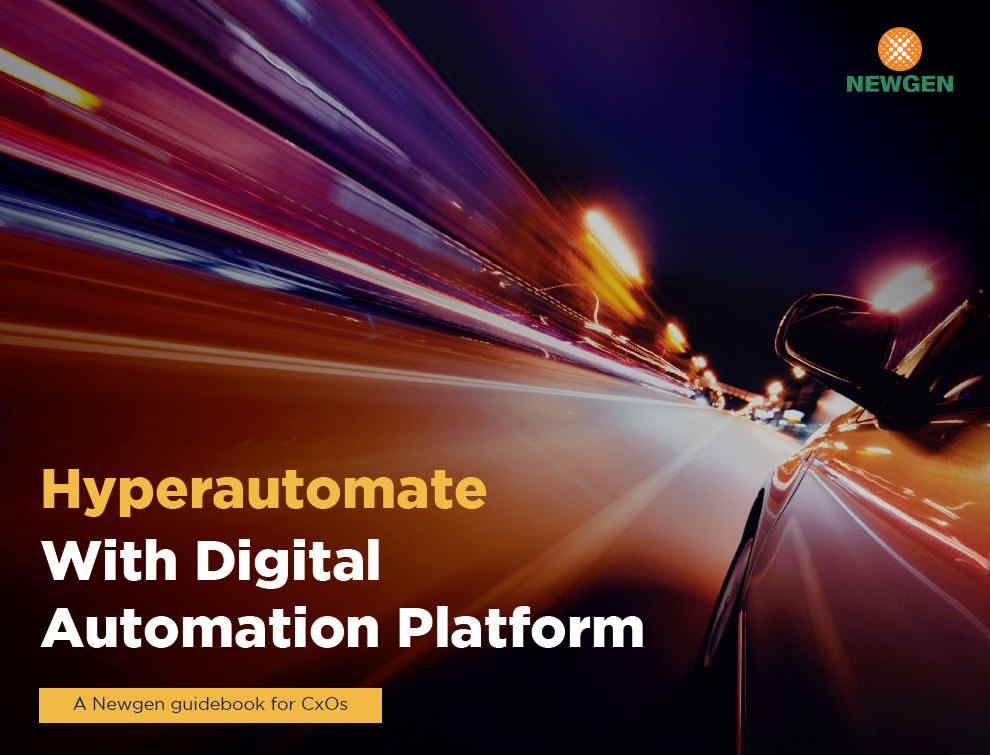 eBook: Hyperautomate With Digital Automation Platform