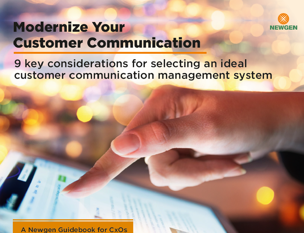 eBook: Modernize your Customer Communications