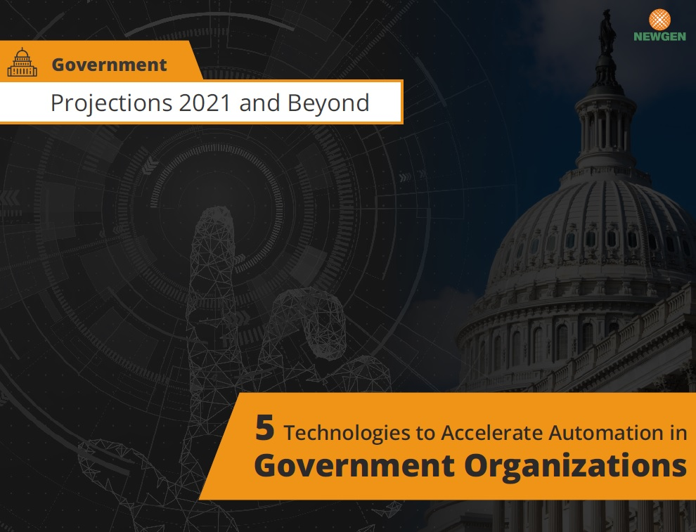 eBook: 5 Technologies to Accelerate Automation in Government Organizations