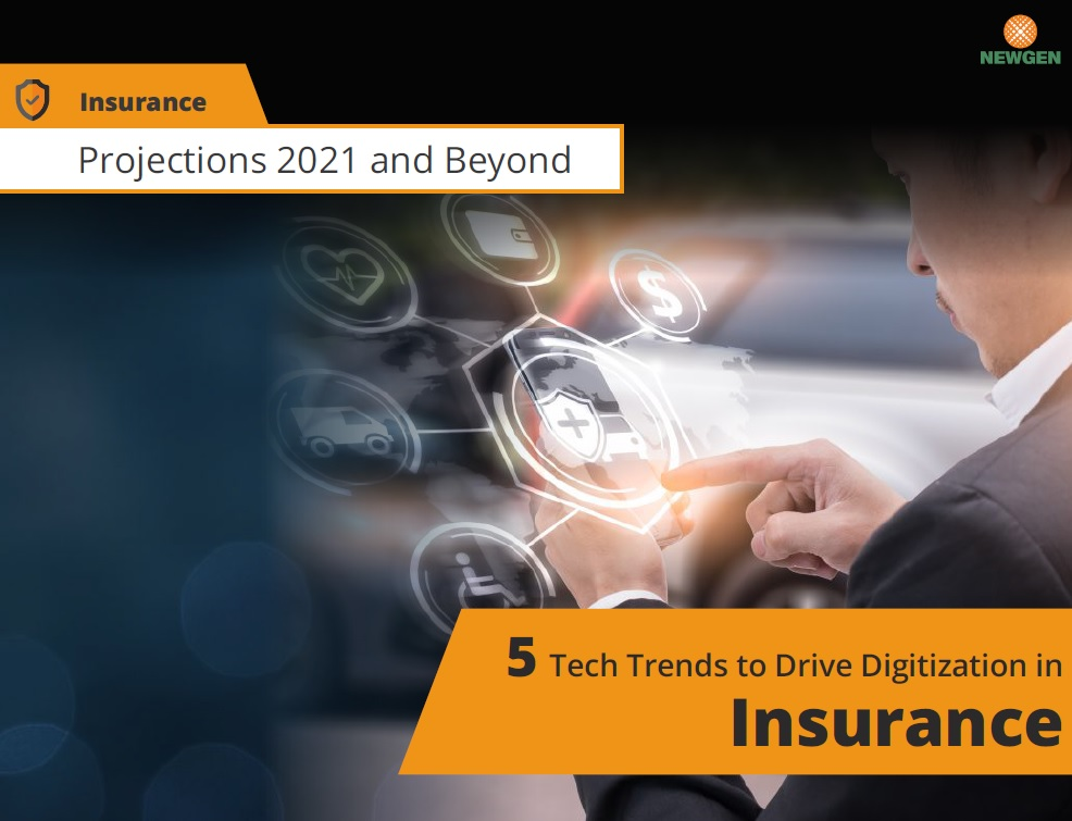 eBook: 5 Tech Trends to Drive Digitization in Insurance