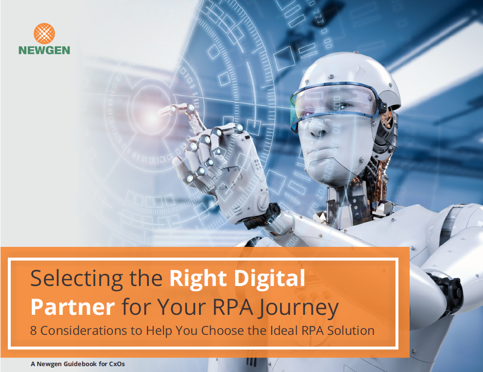 eBook: Selecting the Right Digital Partner for Your RPA Journey