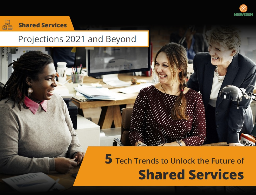 eBook: 5 Tech Trends to Unlock the Future of Shared Services