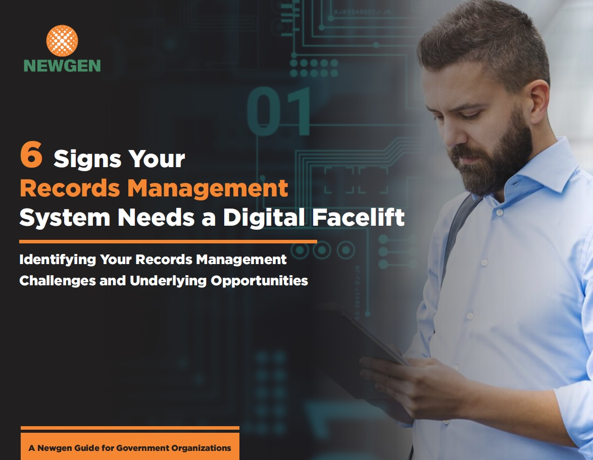 eBook: 6 Signs Your Records Management System Needs a Digital Facelift