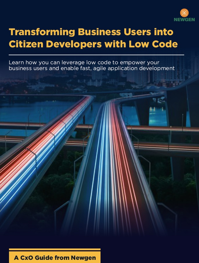 Whitepaper: Transforming Business Users into Citizen Developers with Low Code