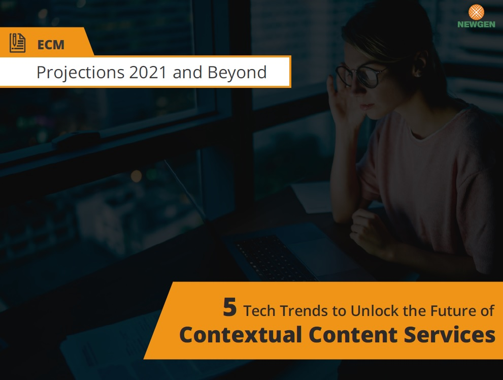 eBook: 5 Tech Trends to Unlock the Future of Contextual Content Services