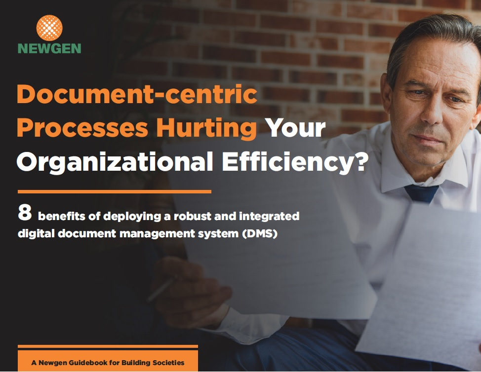 eBook: Document-centric processes hurting your organizational efficiency?