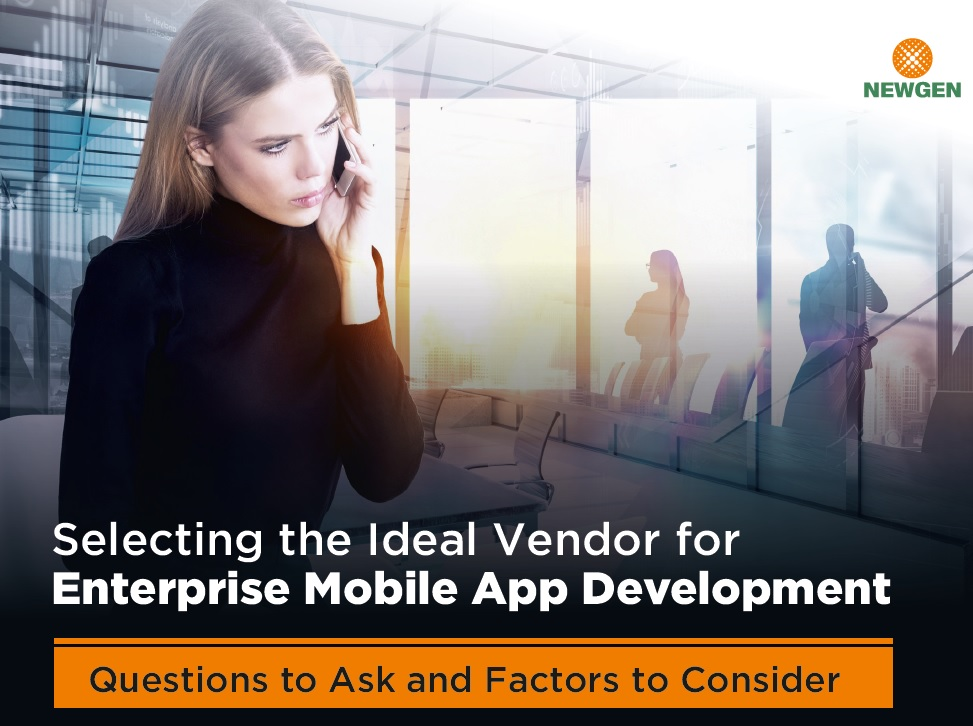 eBook: Selecting the Ideal Vendor for Enterprise Mobile App Development