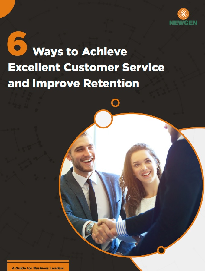 Whitepaper: 6 Ways to Achieve Excellent Customer Service and Improve Retention