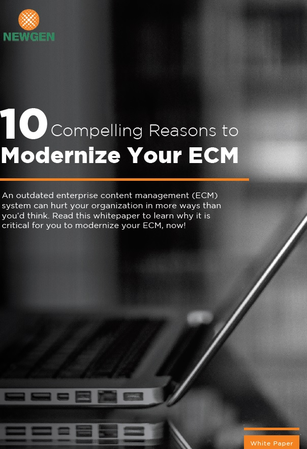 Whitepaper: 10 Compelling Reasons to Modernize Your ECM