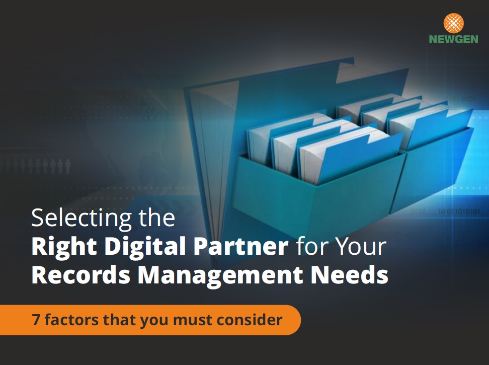 eBook: Selecting the Right Digital Partner for Your Records Management Needs