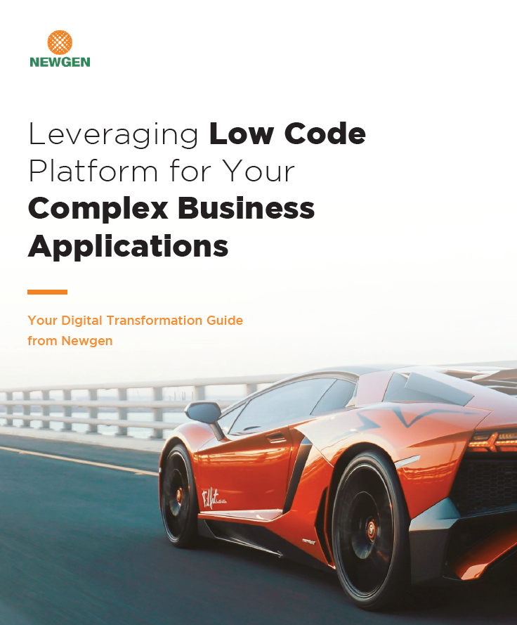 Whitepaper: Leveraging Low Code Platform for Complex Business Applications