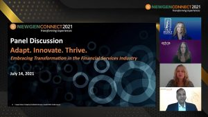 Panel Discussion: Adapt, Innovate, Thrive. Embracing Change in the Financial Services Industry