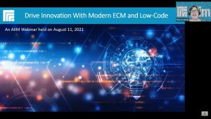 Webinar: Drive Innovation With Modern ECM and Low-Code