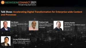 Panel Discussion: Venerable on Accelerating Digital Transformation for Enterprise-wide Content and Processes