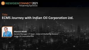 Video: ECMS Implementation at IOCL by Manish Malik