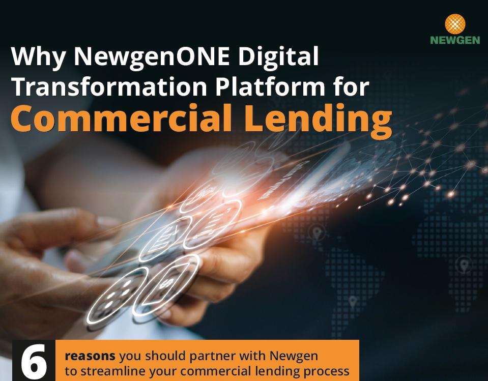 eBook: Why NewgenONE Digital Transformation Platform for Commercial Lending